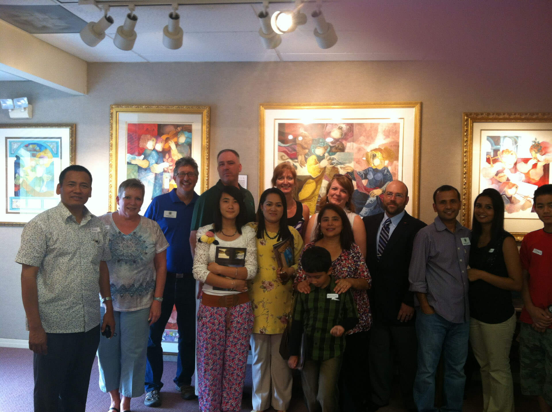Art fundraiser for Nepal at Nuance Galleries
